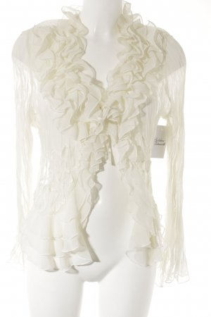 Apanage Ruffled Blouse natural white romantic style