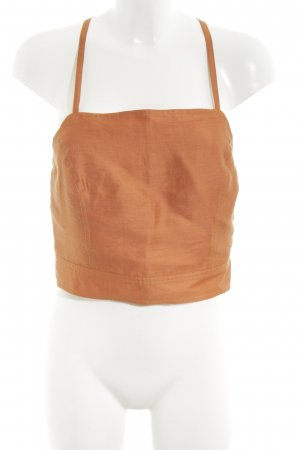 Apanage Spaghetti Strap Top light orange casual look