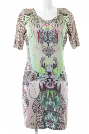 Apanage Stretch Dress abstract pattern casual look