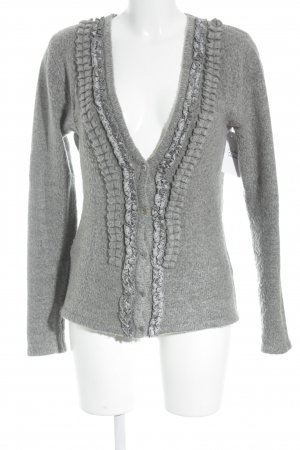 Apanage Knitted Cardigan grey elegant
