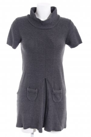 Apanage Knitted Dress dark grey casual look