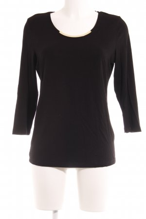 Apanage T-shirt nero stile casual