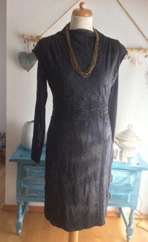 Apanage tolles Kleid schwarz/grau Größe 40