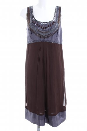 Apanage Pinafore dress blue-brown casual look