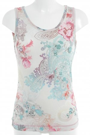 Apanage Top met spaghettibandjes bloemen patroon Beach-look