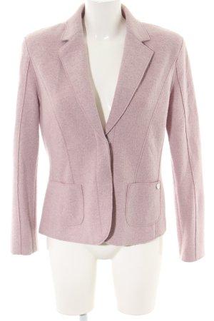 Apanage Chaqueta de lana rosa moteado estilo «business»