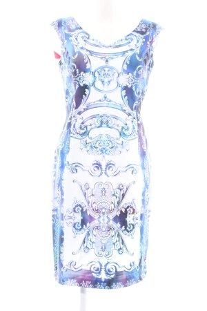 Apange Robe fourreau motif abstrait élégant
