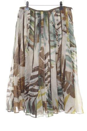 Apange Plaid Skirt multicolored business style