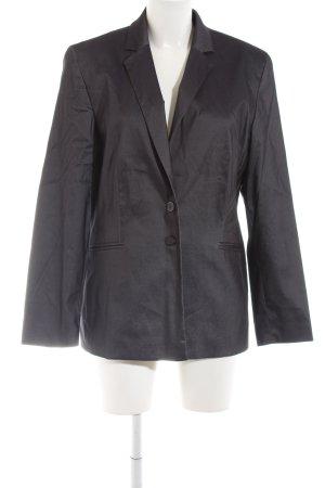 Apange Lange blazer zwart zakelijke stijl