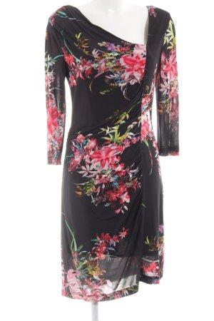 Apange Stretch Dress flower pattern elegant