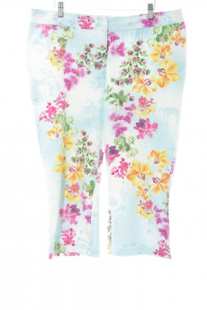 Apart 3/4 Length Trousers flower pattern casual look