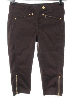 Apart Pantalone a 3/4 marrone stile casual