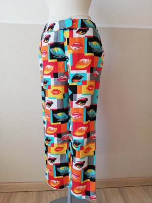 Apart 3/4 Length Trousers multicolored cotton