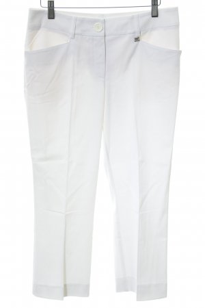 Apart Pantalon 3/4 blanc style simple