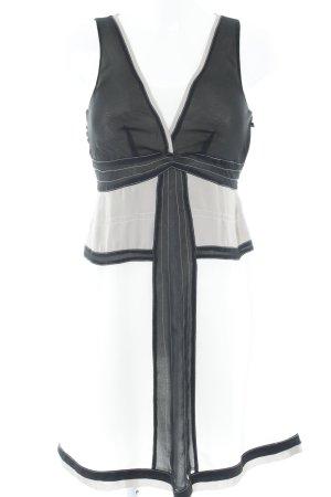 Apart A-Linien Kleid abstraktes Muster Elegant