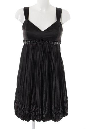Apart Vestido línea A negro estilo fiesta