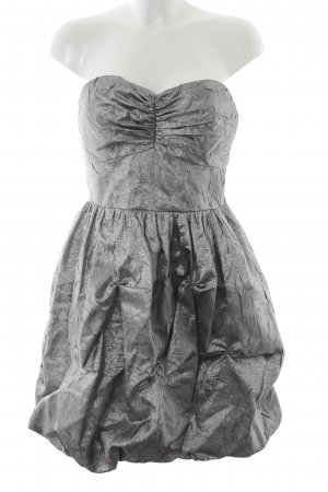 Apart Abendkleid anthrazit-silberfarben Elegant