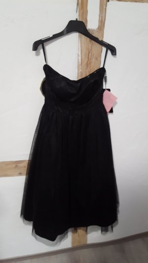 Apart Abendkleid Cocktailkleid Tüllkleid Größe 34 schwarz