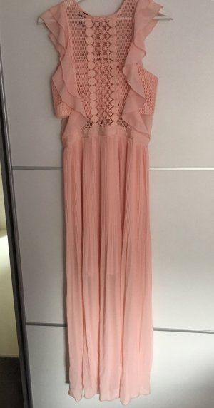 Apart  glamour Abito di chiffon rosa pallido