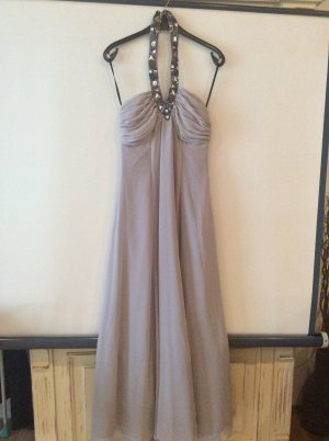 Apart Evening Dress silver-colored