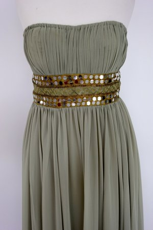 Apart Evening Dress sage green polyester