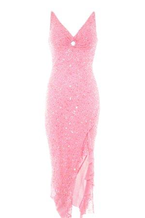 Apart Abendkleid pink Party-Look