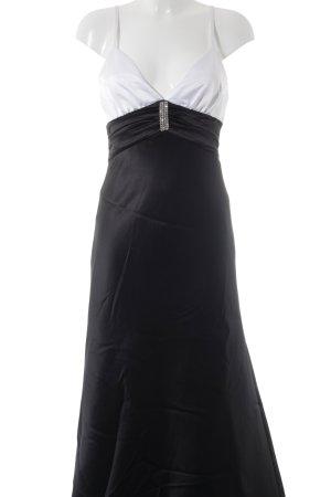 Apart Abendkleid schwarz-weiß Elegant