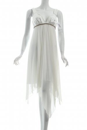 Apart Abendkleid weiß Eleganz-Look