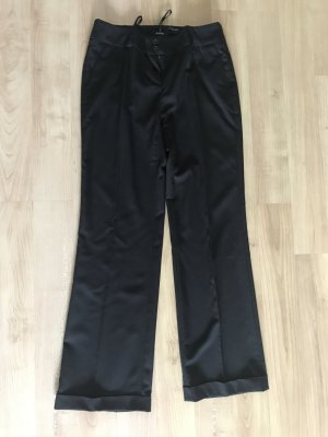 Apart Suit Trouser black cotton