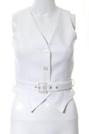 Apart Gilet bianco stile casual