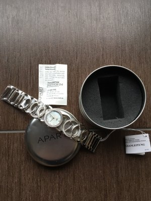 Apart Watch With Metal Strap silver-colored stainless steel