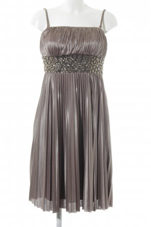 Apart Bandeaukleid bronzefarben-graubraun Elegant