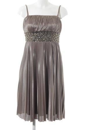 Apart Bandeau Dress bronze-colored-grey brown elegant