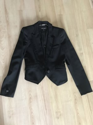 Apart Jersey Blazer black cotton