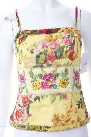 Apart Bluse florales Muster Paillettenverzierung