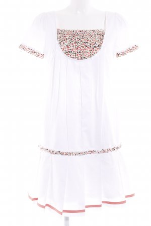 Apart Blouse Dress flower pattern beach look
