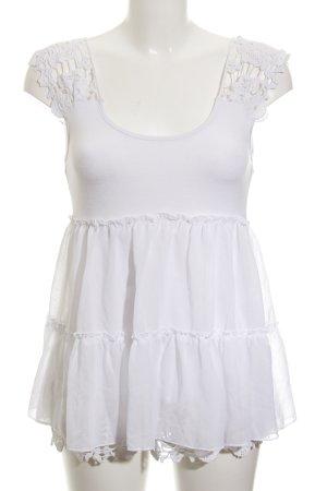 Apart Blusa bianco stile casual
