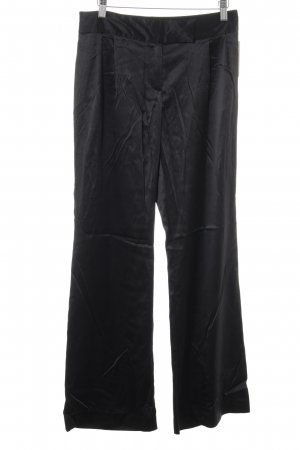 Apart Pleated Trousers black business style