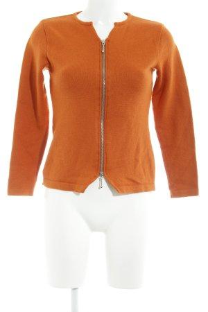 Apart Cardigan orange casual look
