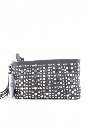 Apart Clutch schwarz Punk-Look