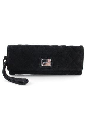 Apart Clutch schwarz-silberfarben Elegant