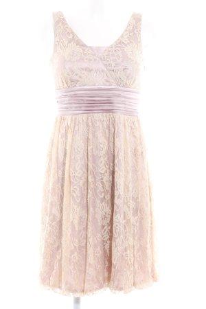 Apart Cocktail Dress mauve-cream elegant