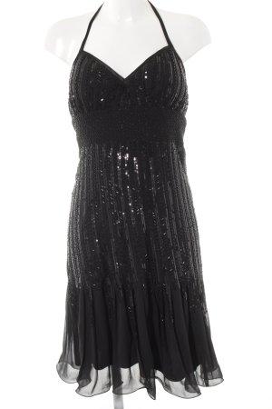 Apart Cocktail Dress black glittery