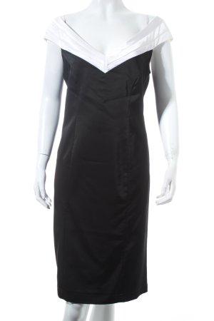 Apart Cocktailkleid schwarz-weiß Elegant