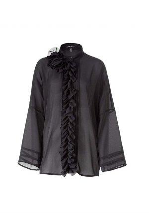 Apart Oversized Blouse black polyester