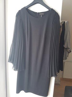 Apart  glamour Vestido de cóctel negro Poliéster
