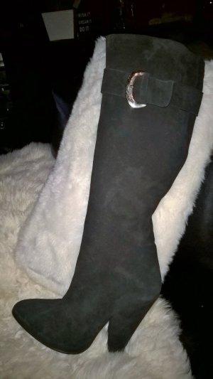APART Echt Leder Stiefel schwarz Gr.39