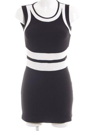 Apart Sheath Dress black-white classic style