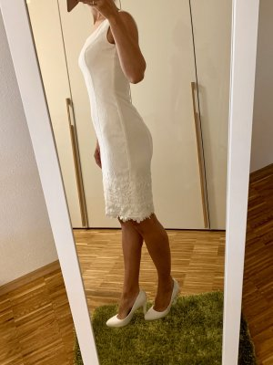 Apart Robe fourreau blanc