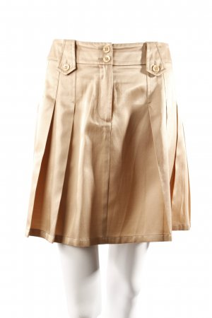 Apart beige pleated skirt